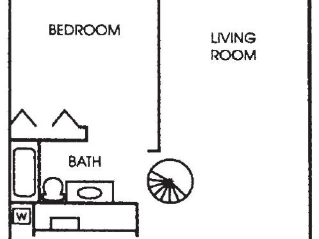 Appleton Place Menomonee Falls 2Bed 2Bath Loft Lower floor plan