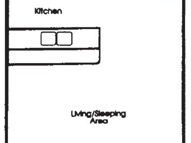 Appleton Place Menomonee Falls Studio floor plan