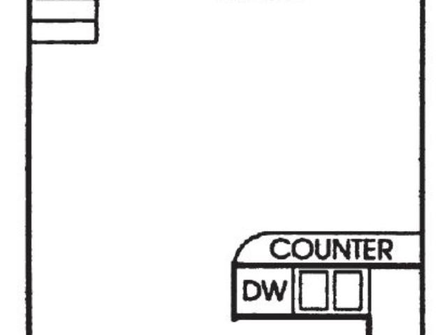 Maple Grove Sussex apartment 1Bed Loft Lower floor plan
