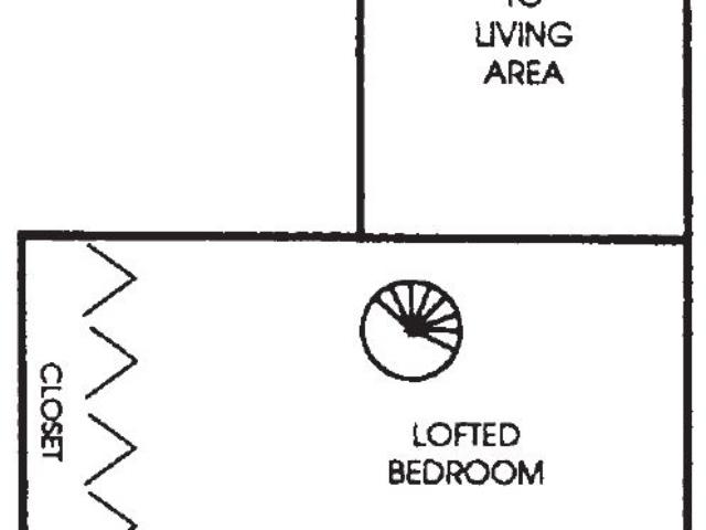Appleton Place Menomonee Falls 2Bed 2Bath Loft Upper floor plan