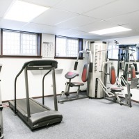 On-Site Fitness Facilities at an apartment in Hartland