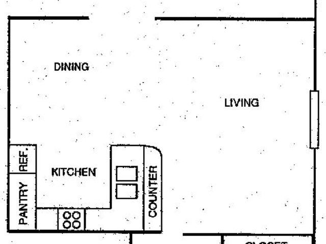Foxtail Meadows Pewaukee apartment 2Bed floor plan